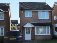 3 bed detached house to rent in Leighton, Crewe