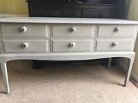 Refurbished Vintage Stag Dresser/Console Table