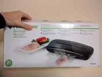 FoodSaver FFS001 Vacuum Sealer Black