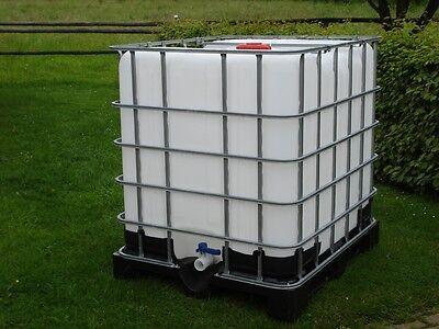 IBC-Container-Wasserfass-Regentonne-1000 Lieter