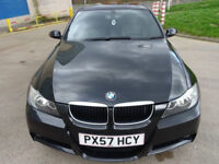 BMW 3 SERIES 2.0 320D M SPORT 4d 174 BHP PRIVACY GLASS + 18 INCH ALLOYS + FULL LEATHER TRIM +