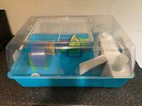 Rodent/hamster cage setup