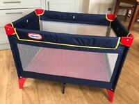 Little Tikes Travel Cot (Very Good Conditon)