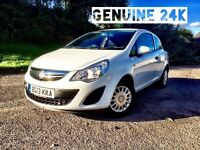 Vauxhall Corsa / Genuine 24k / 1.0 S 2 owners / Full Service History