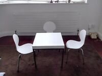 Childrens table and 3 chairs