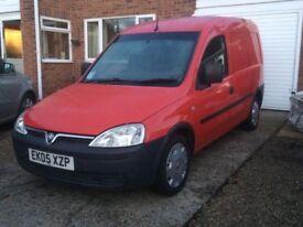 Vauxhall combo 2005