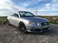 Audi A4 Convertible Cabriolet Diesel 2.0 Tdi Sport B7 Remapped S Line