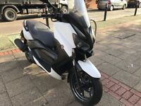 Yamaha xmax 125cc white 2014 low mileage not vespa pcx ps hpi clear!!!!