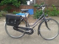 Thompson Van De Veire Zomergem Dutchi Dutch Low Step Hybrid Touring Bike