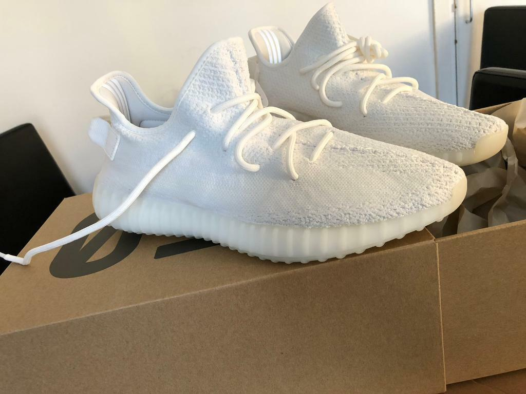 f5e88be9f7f Adidas - Yeezy Boost 350 V2 - Triple White - UK Size 10.5 - US Size ...