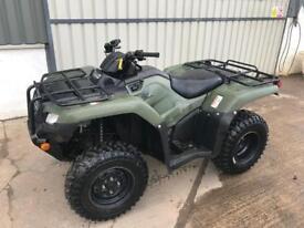 Honda TRX 420 Fourtrax 4x4 2014 Quad ATV like foreman grizzly 500 550