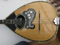 Six string bouzouki by Aram Tsakiria - good playable instrument