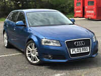 2009 Audi A3 -- 1.4 TFSi SE SportBack 5 Door --- Manual --- Part Exchange OK --- Drives Good