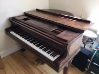 Broadwood Baby Grand Piano For Sale in Good Condition.