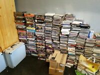 Massive dvd and cd collections