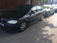 Vauxhall Astra SXI 16V 1598cc Petrol 5 speed manual 5 door hatchback 02 Plate 2002 Black