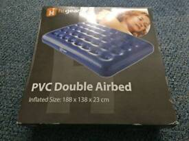 PVC Double air bed mattress BNIB
