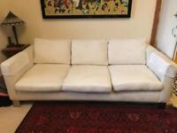 Beautiful Oak Framed Sofa