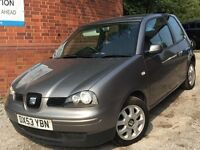 Seat Arosa 1.0 S 3dr GENUINE WARRANTED LOW MILEAGE