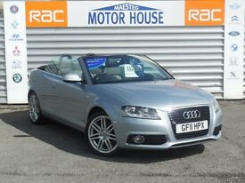 Audi A3 TFSI (S LINE) FREE MOT'S AS LONG AS YOU OWN THE CAR!!! (silver) 2011
