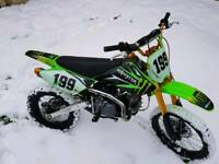 140 Big Wheel Pit Bike.Age 12yrs+