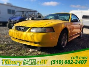 2004 Ford Mustang *AS IS* 40 anniversary edition, 5spd Manual.