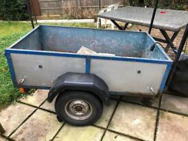 5ftx3ft metal trailer SOLD waiting collection