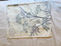 Designer cotton embroidered fabric lengths