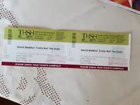 Rescheduled David Baddiel gig tickets