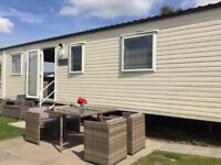 3 bed deluxe caravan hire at 5 Star Haven Rockley Park, Poole, Dorset.