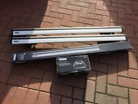 Thule WingBars 961 + Thule Rapid System Footpack 757 (roof rails, roof bars, roof racks)