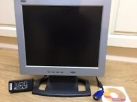 "AOC 17"" TFT colour LCD Monitor ( internal speakers )"