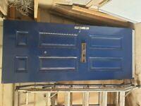 Solid Front door