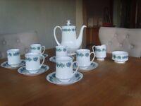 Fine bone china coffee set