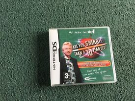 Are You Smarter Than a 10 Year Old Nintendo DS Game