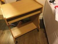 Compact Computer Workstation Desk