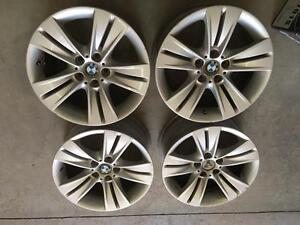 4 mags d'origine de BMW X5 pour 2006 et moins 18 pouce                                        Code M57
