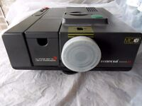 Slide Projector - with slide boxes and slide case