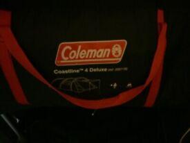 Colman coastline 4 deluxe tent