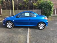 FOR SALE Peugeot 206 convertible 1.6