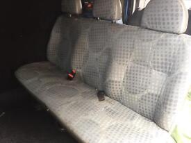 Ford transit rear seat