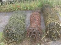 ELETRIC FENCE FOR HORSE CHICKEN AND MORE £25 PER ROLL