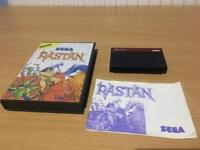 RARE RASTAN SEGA MASTER SYSTEM COMPLETE WITH MANUAL