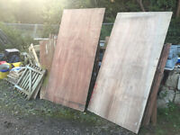 Good Quality 18mm Plywood - 8ft by 4ft