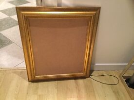 Gold Picture frame for sale 19 inch X 23 inch