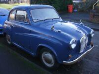 1955 AUSTIN A30 TWO DOOR CLASSIC CAR MOT AND TAX EXEMPT...