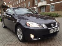 Lexus IS 220d 2.2 TD 4dr 2008 FULL LEXUS SERVICE HISTORY BROWN LEATHERS SEATS HPI CLEAR P/X WELCOME