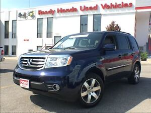 2015 Honda Pilot Touring - Navigation - Leather - DVD