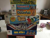8 Boxed games