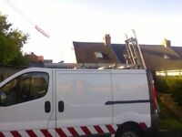 Easi-load ladder rack for vauxhall vivaro van (bristor)